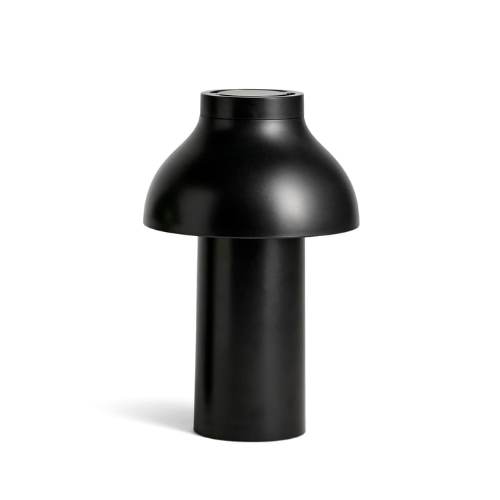 PC Portable LED Light from Hay in soft black (RAL 9004)