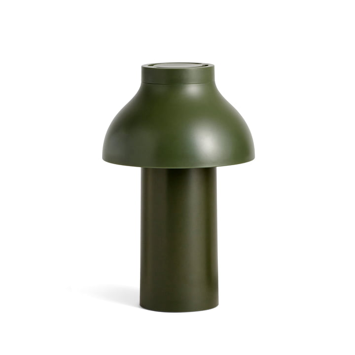 PC Portable LED Light from Hay in olive (RAL 6003)