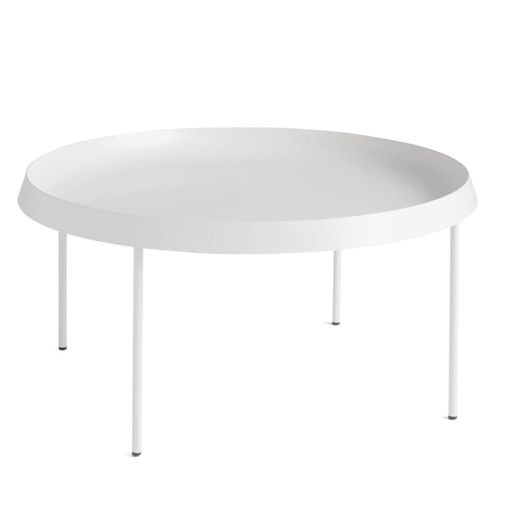 Tulou Coffee Table Ø 75 x H 35 cm from Hay in off-white