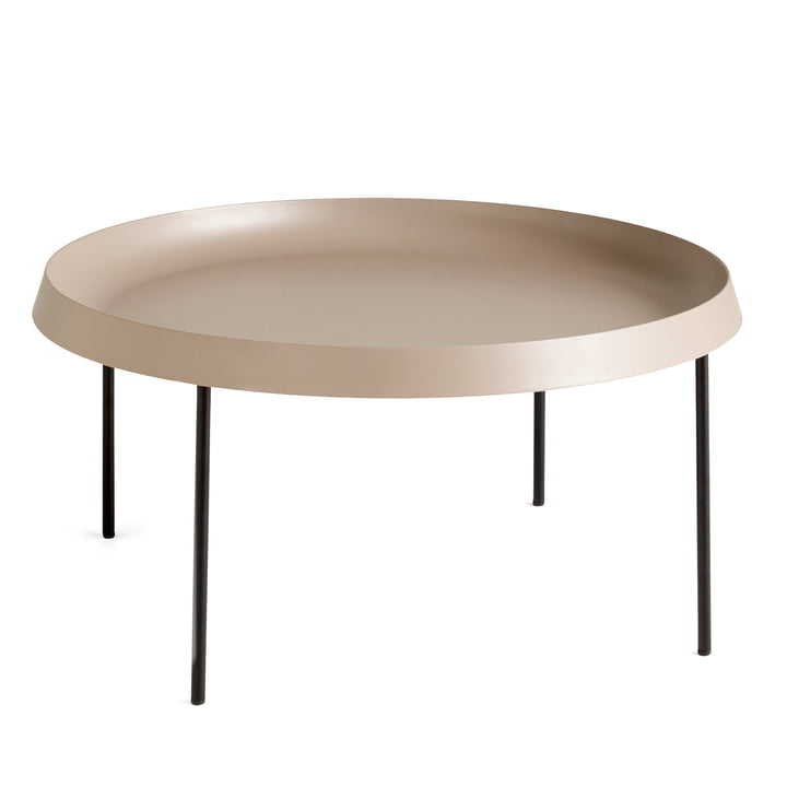 Tulou Coffee Table Ø 75 x H 35 cm from Hay in mocha / black