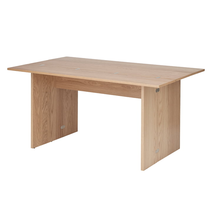 Flip table, 3 folds in oak by Design House Stockholm