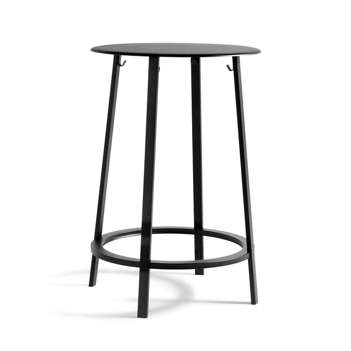 Revolver bar table Ø 70 x H 105 cm from Hay in black