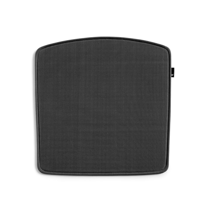 Seat cushion for Élémentaire Chair by Hay in anthracite (Outdoor)