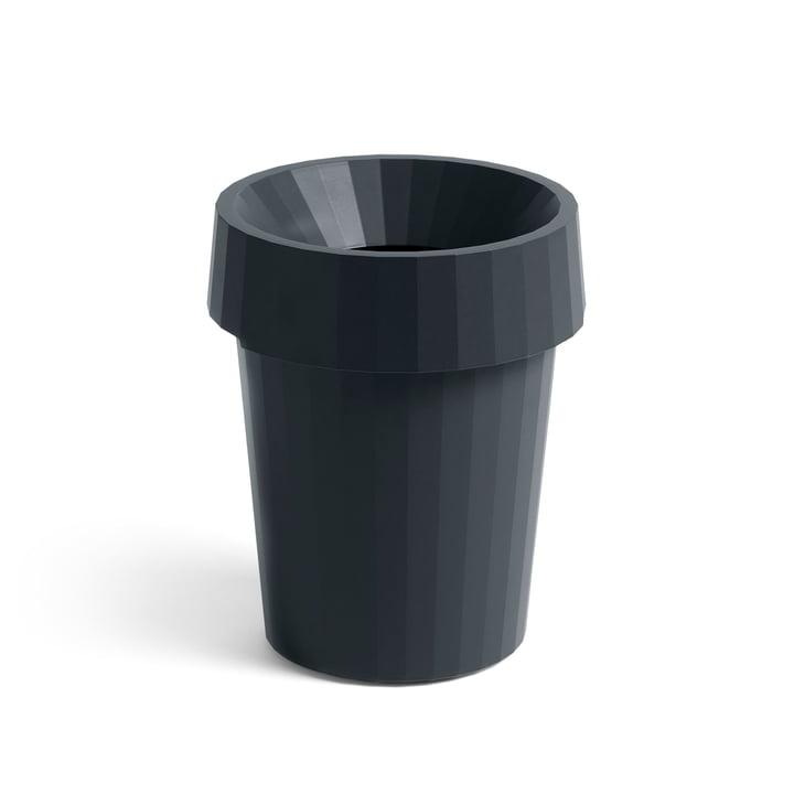 Shade Bin Ø 30 x H 36,5 cm 14 l by Hay in charcoal
