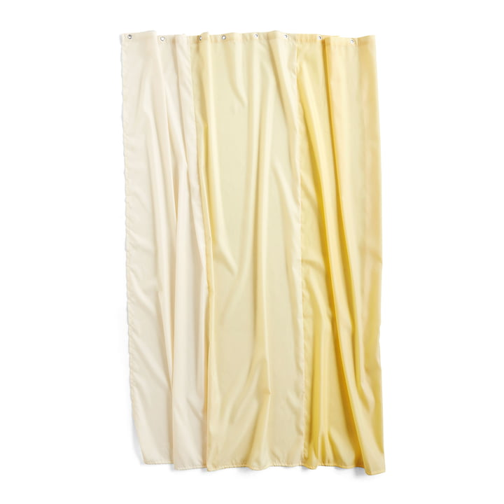 Watercolour shower curtain 200 x 180 cm from Hay in vertical buttercup