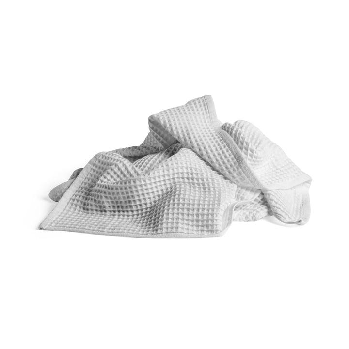 Giant Waffle bath towel 150 x 90 cm from Hay in grey