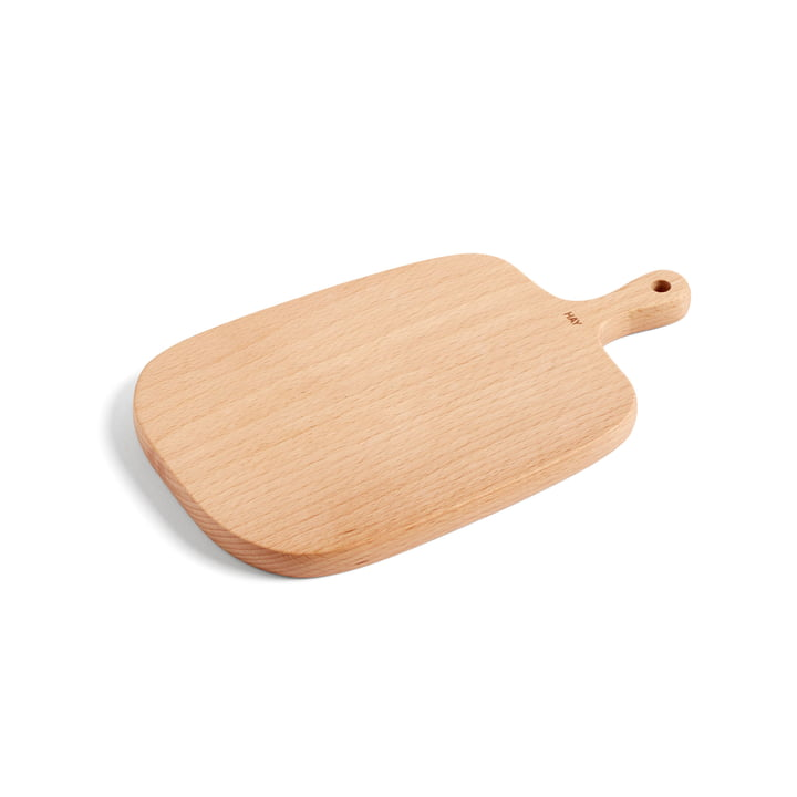 Plank cutting and serving board S 27 x 16 cm by Hay made of beech wood
