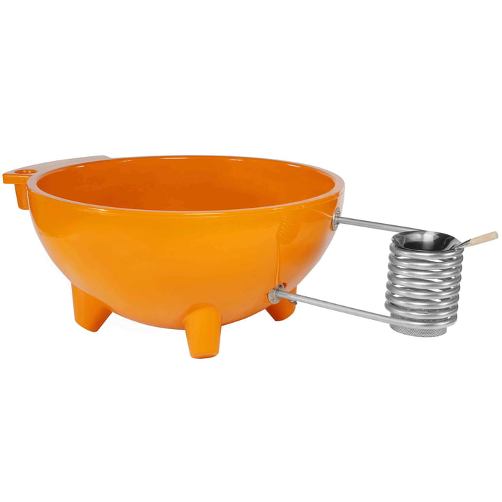 Dutchtub Original in orange by Weltevree