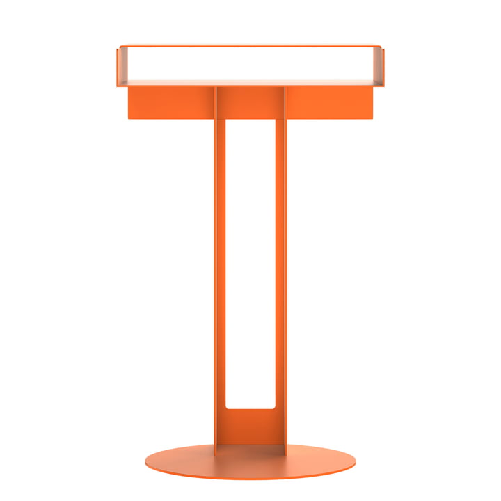 Meta side table from New Tendency in orange