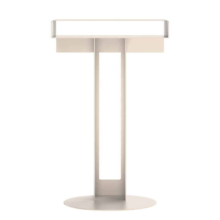 Meta side table from New Tendency in sand