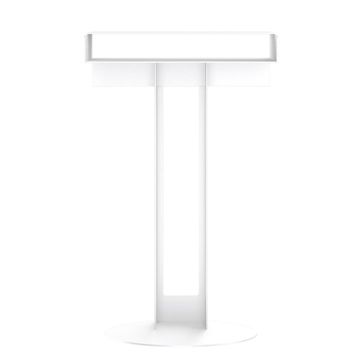 Meta side table from New Tendency in white