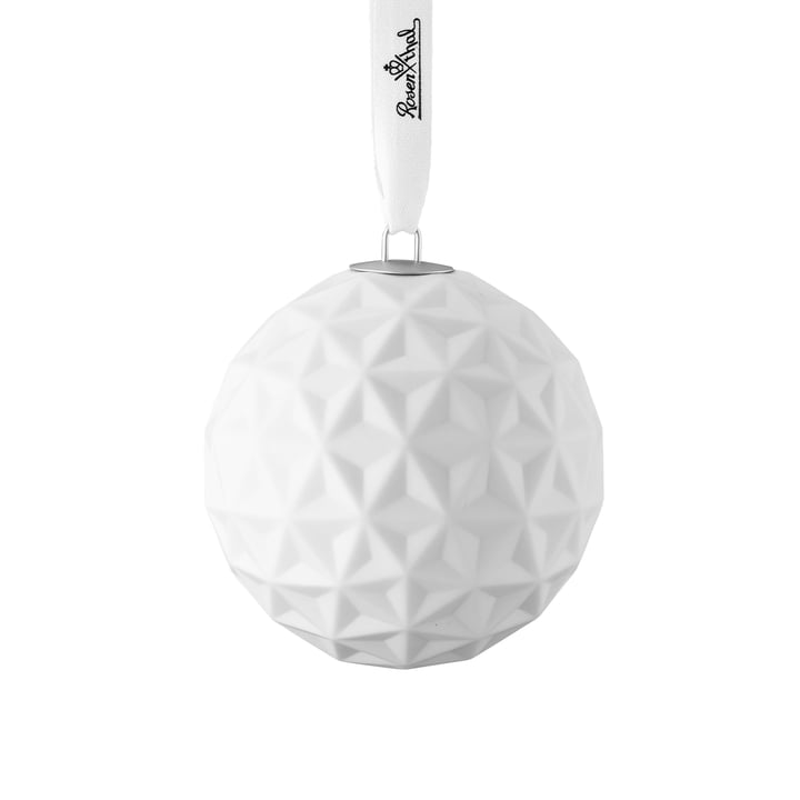 Snowball porcelain ball motive 2 from Rosenthal