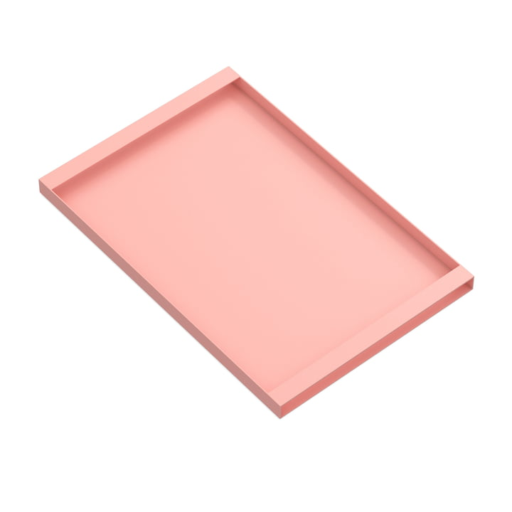 Torei serving tray 475 × 315 × 25 mm of New Tendency in pink