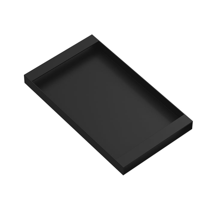 Torei serving tray 320 × 185 × 25 mm of New Tendency in black