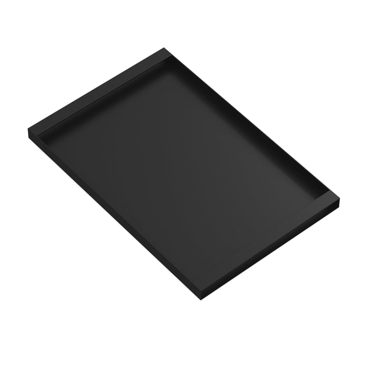 Torei serving tray 475 × 315 × 25 mm of New Tendency in black