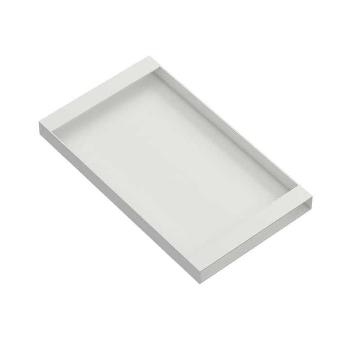 Torei serving tray 320 × 185 × 25 mm of New Tendency in white