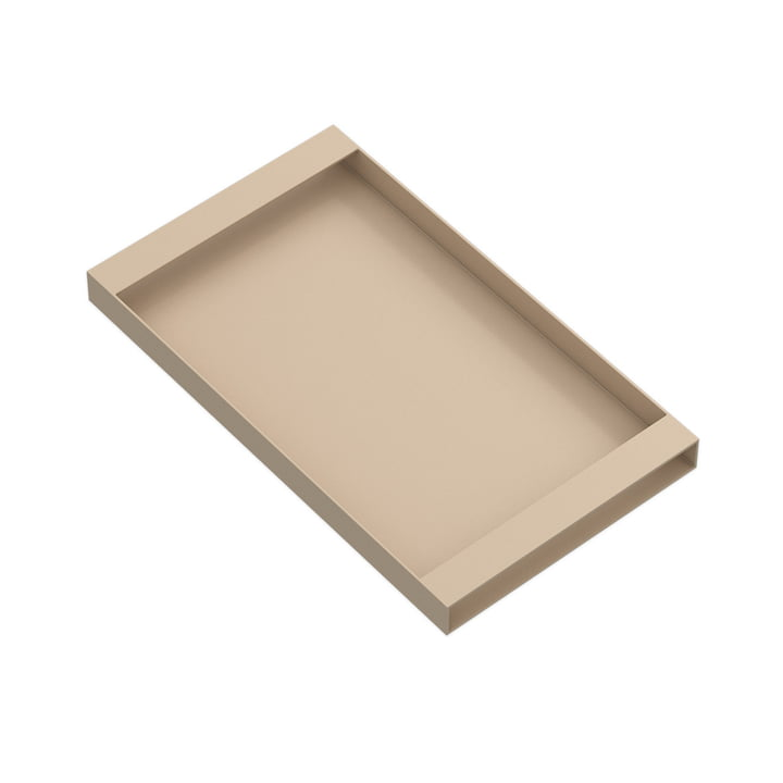 Torei serving tray 320 × 185 × 25 mm of New Tendency in sand
