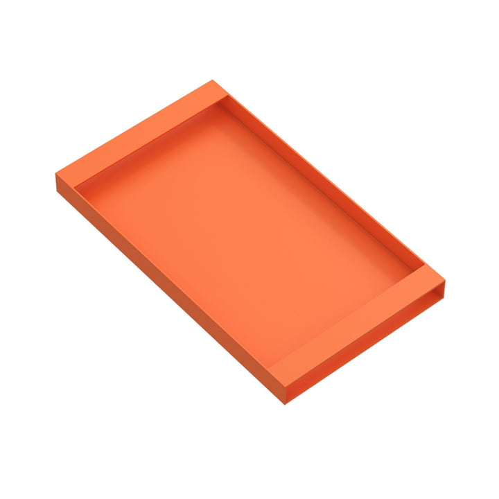 Torei serving tray 320 × 185 × 25 mm of New Tendency in orange