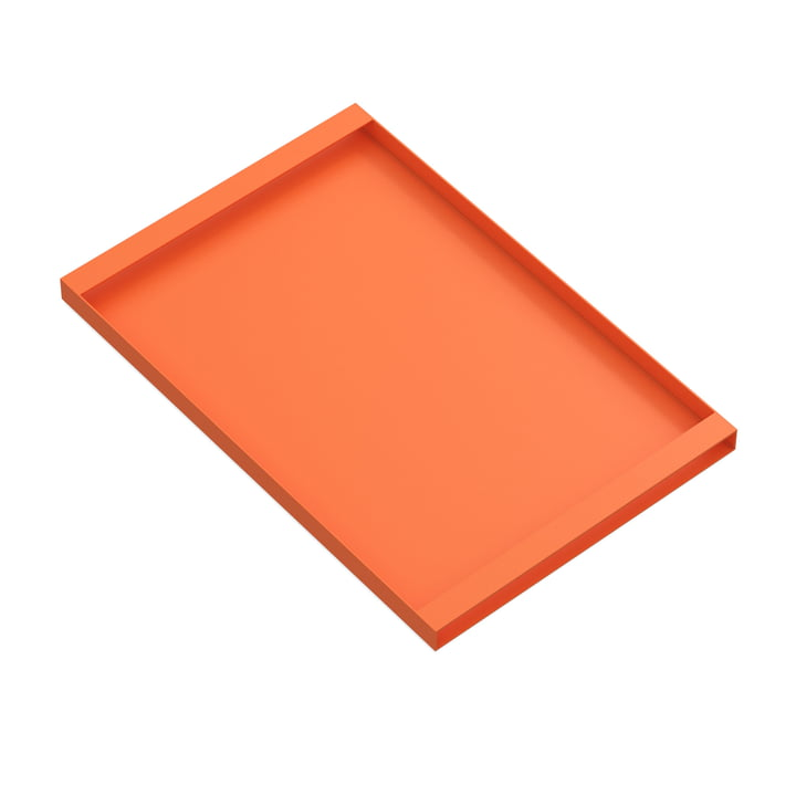 Torei serving tray 475 × 315 × 25 mm of New Tendency in orange