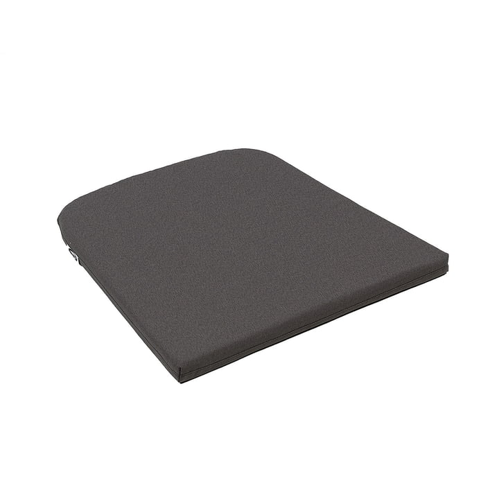 Seat cushion for Net armchair in grey stone by Nardi