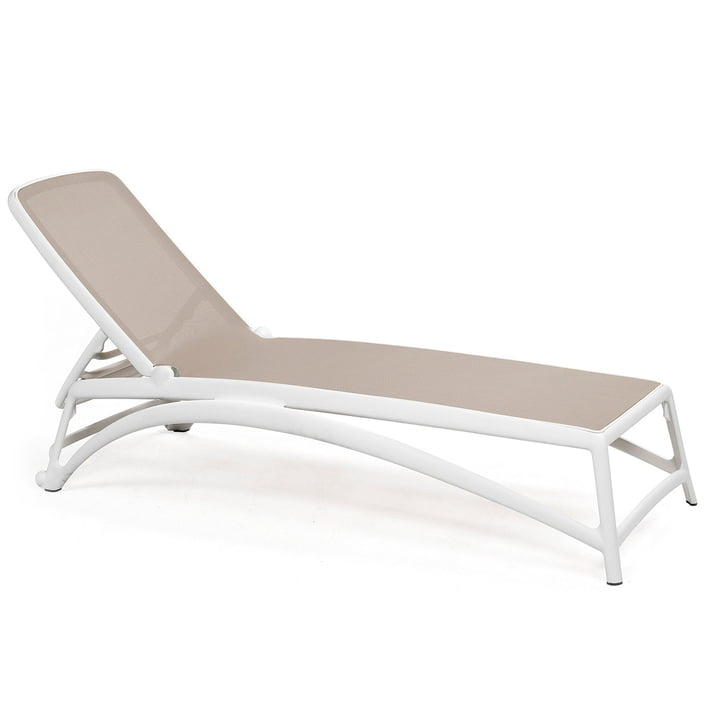 Atlantico Outdoor Couch in white / tortora from Nardi