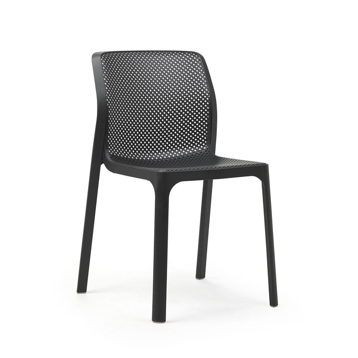 The Bit chair in anthracite by Nardi