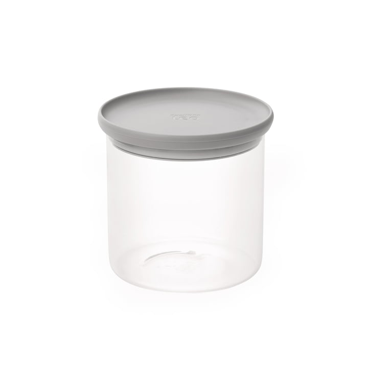 Leo food container 1 l (incl. measuring spoon) from Berghoff in grey