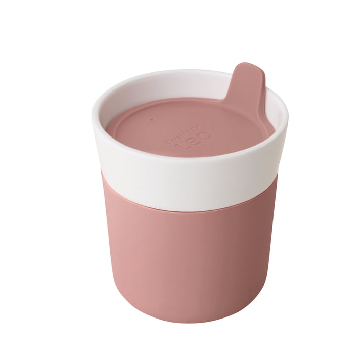 Leo travel mug 250 ml of Berghoff in pink