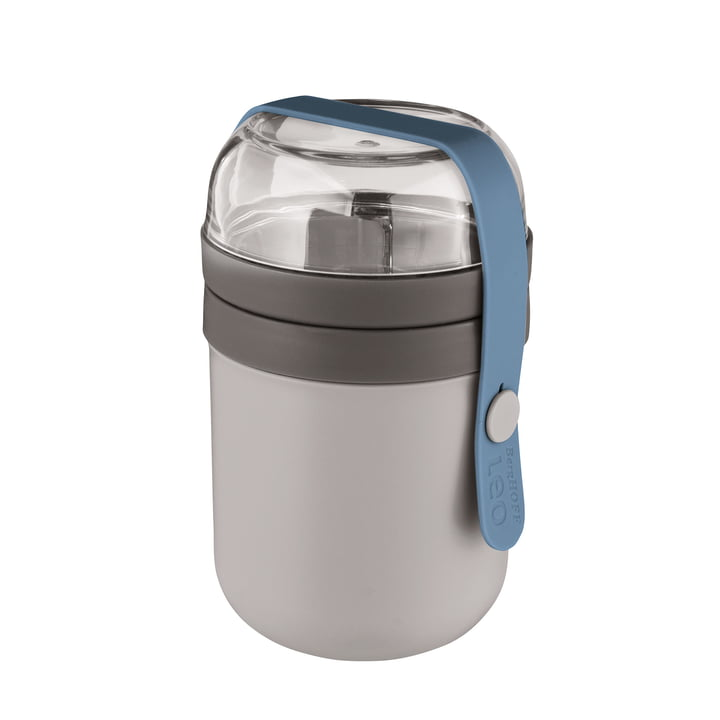 Leo lunch box from Berghoff in grey