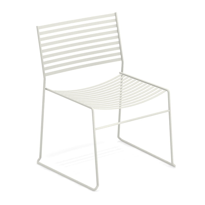 Aero lounge chair in white by Emu