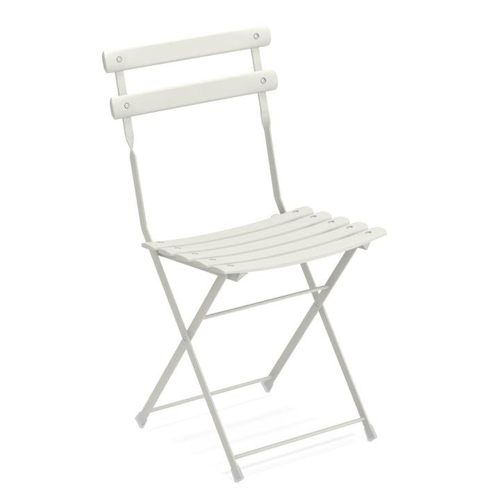 Arc en Ciel folding chair in white by Emu