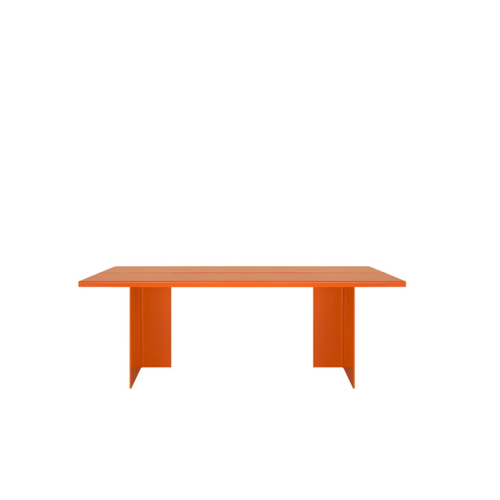 Zebe bench seat Medium of objects of our days in pure orange