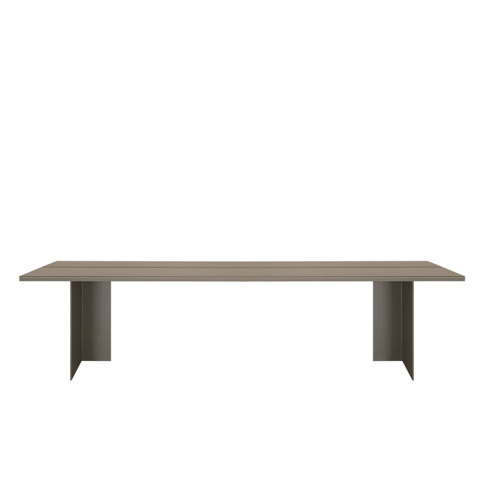 Zebe bench Large of objects of our days in olive