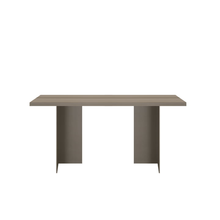 Zebe table 150 x 85 cm from objects of our days in olive