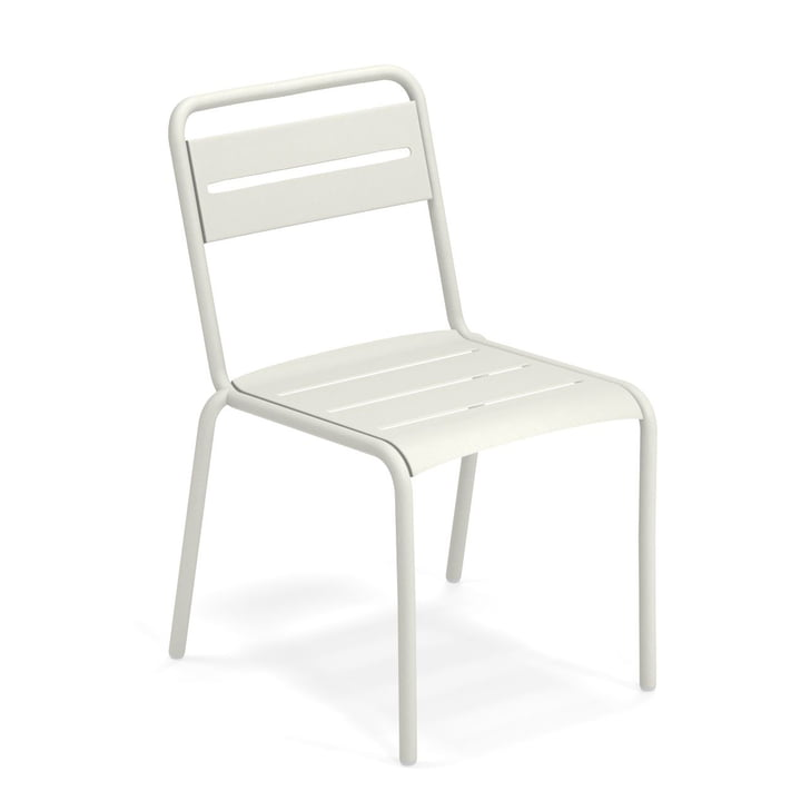 Star chair in white by Emu