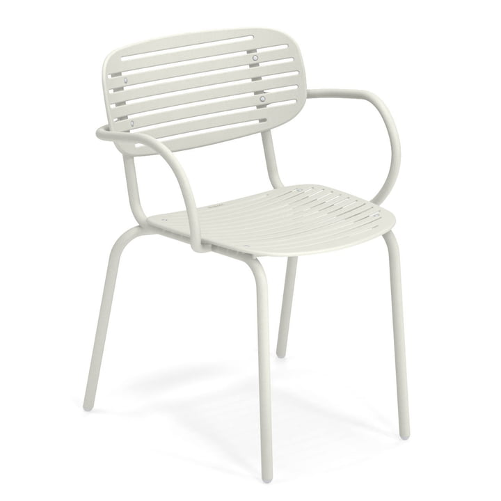 Mom armchair in white by Emu