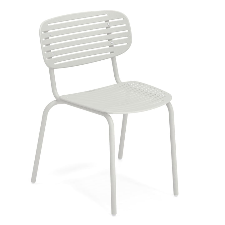 Mom chair in white by Emu