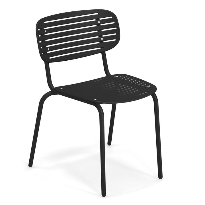 Mom chair in black by Emu