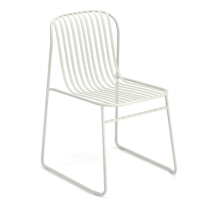 Riviera chair in white by Emu