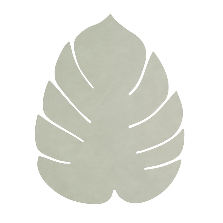 Table set Monstera L by LindDNA in Nupo olive-green