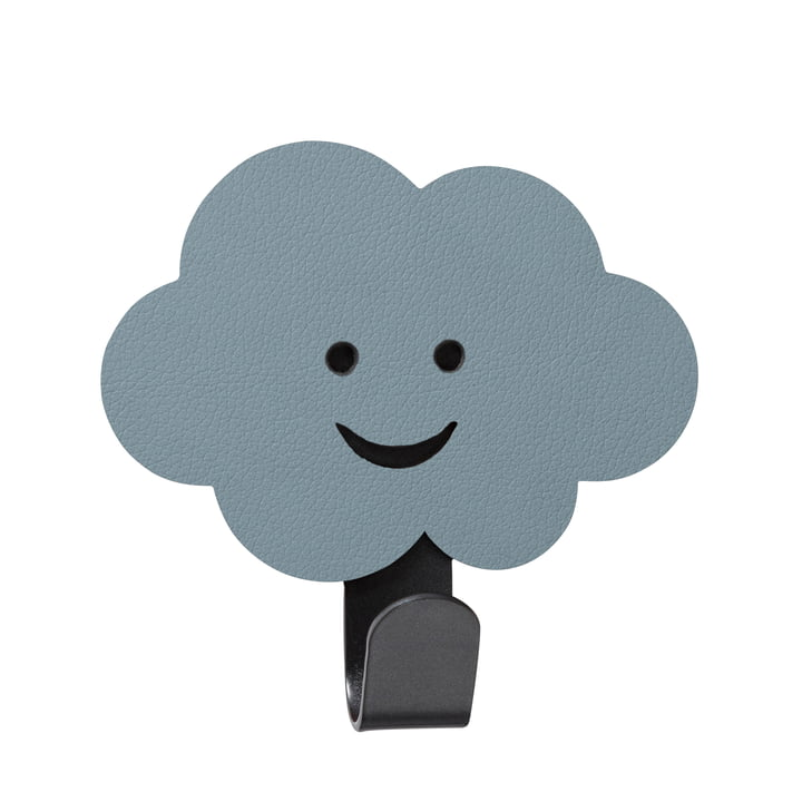 Children wall hook cloud of LindDNA in Nupo light blue
