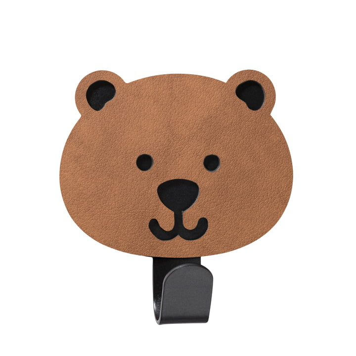 Kids wall hook bear from LindDNA in Nupo nature