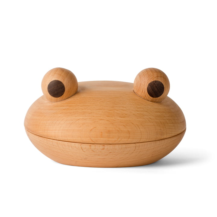 Frog bowl in walnut / beech by Spring Copenhagen