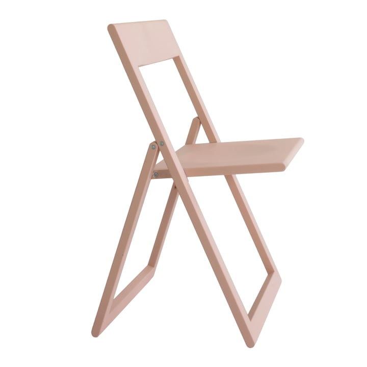 Aviva folding chair in pink by Magis