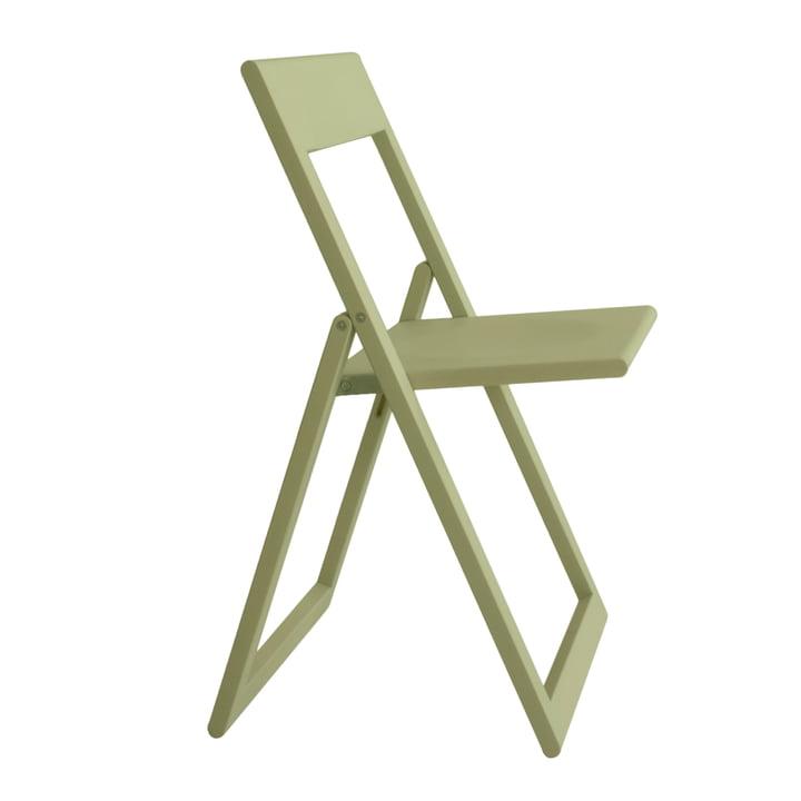 Aviva folding chair in light green by Magis