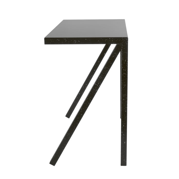 Bureaurama bar-table H 102,5 cm in black (injected white) by Magis