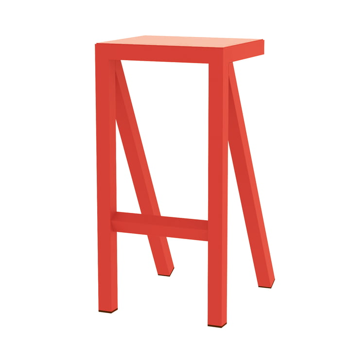 Bureaurama kitchen stool H 62 cm in orange from Magis