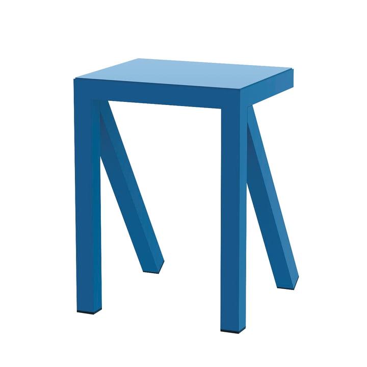 Bureaurama stool H 50 cm in blue from Magis