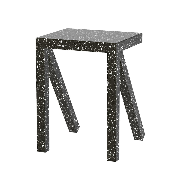 Bureaurama stool H 50 cm in black by Magis