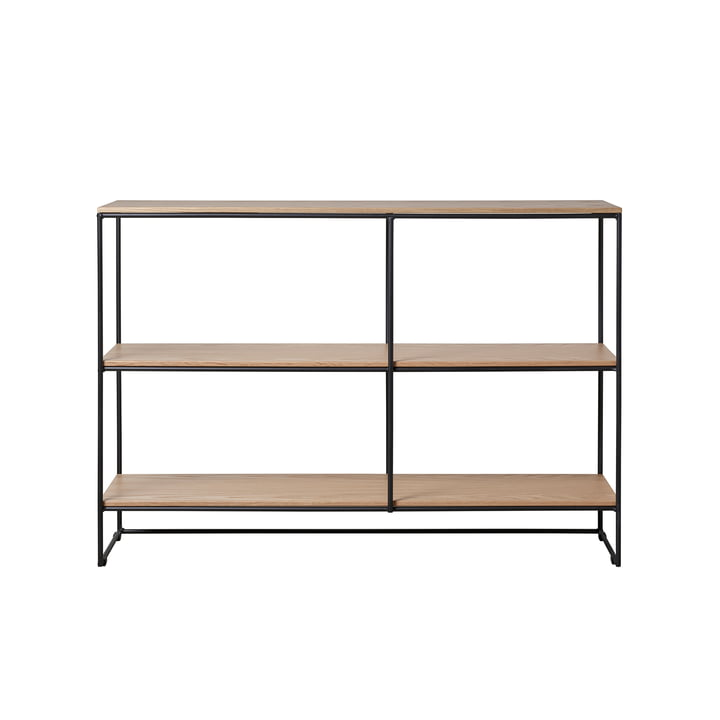 Planner shelf small by Fritz Hansen in oak / black